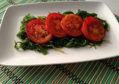 Tomatitos plancha