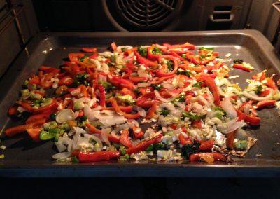 Cama de verduras maragota